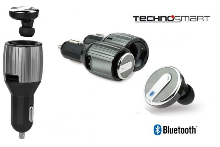 Foto Bluetooth Headset - Met Handige Car Charger