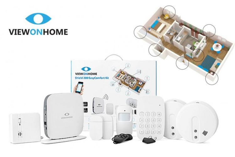 Foto ViewOnHome Alarmsysteem Shield200 - Alles In 1 Beveiligingssysteem