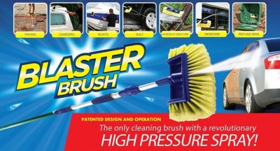 Foto Blaster Brush II - 2 in 1 hogedruk waterbezem