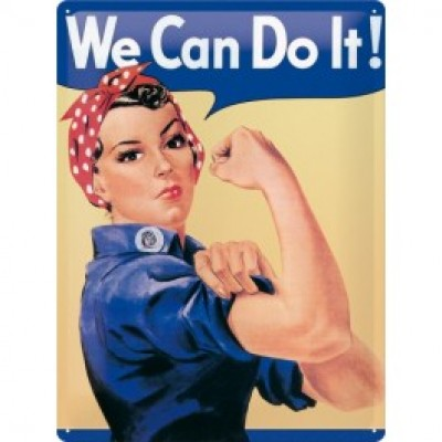 Foto We Can Do It - 30x40cm