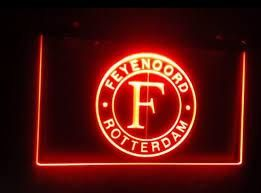 Foto Feyenoord Rotterdam Club Logo LED Neon Light Sign