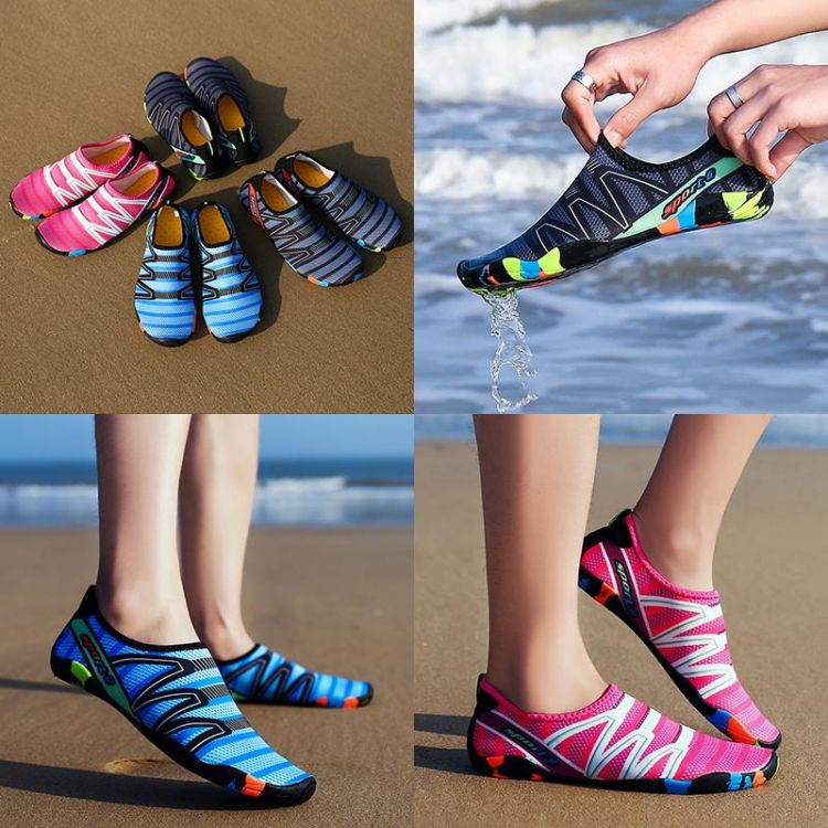 Foto Luxe Waterschoenen - Aqua Socks - Quick Dry Shoes - Unisex - Strandschoenen
