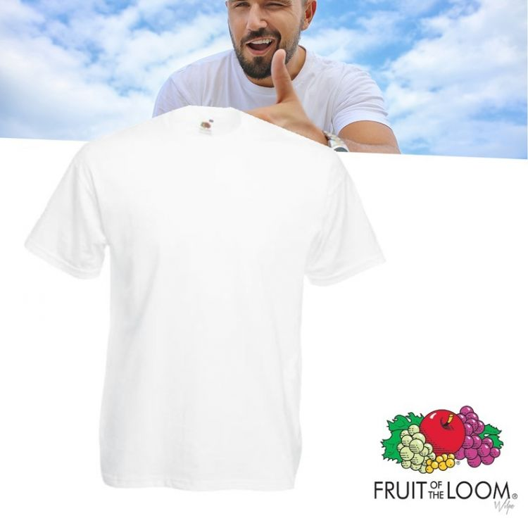 Foto 12 Pack Fruit of the Loom Shirts