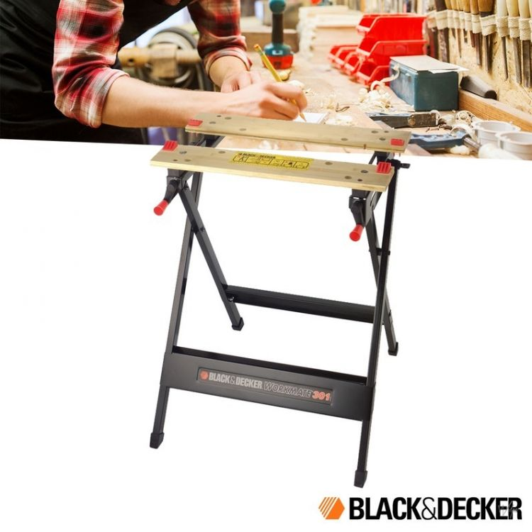Foto Black en Decker Workmate WM301 Werkbank
