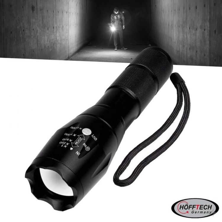 Foto Hofftech Zaklamp Tactical Superbeam