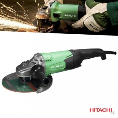 Foto Hitachi Haakse Slijper 230mm 2000W G23ST(WE) met Diamantzaagblad