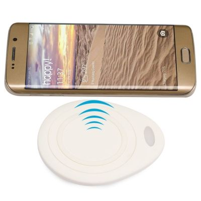 Foto Luxe Waterdruppel Universele Wireless QI Smarpthone Charger