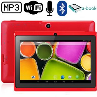 Foto Quadcore 7 inch Android Tablet 8 GB ROM Wifi & Bluetooth