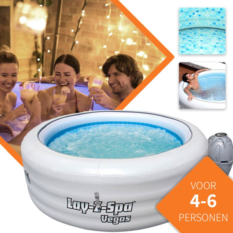Foto Bestway Lay-Z Vegas Winter/Zomer Jacuzzi Spa