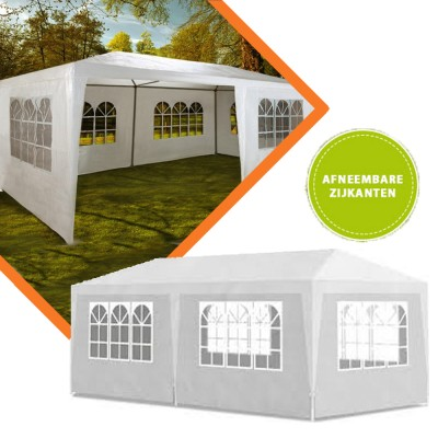 Foto Extra Grote Design Partytent 3 x 6 Meter