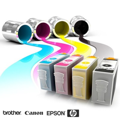 Foto Inkt Cartridges voor Brother/Canon/Epson/HP printers