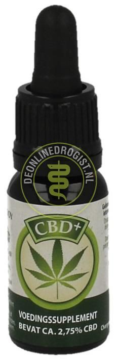 Foto Jacob Hooy CBD+ Olie 2.75% 10ml