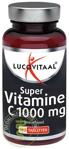 Foto Lucovitaal Super Vitamine C1000mg Tabletten