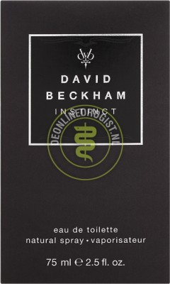 Foto David Beckham Instinct Eau De Toilette 75ml