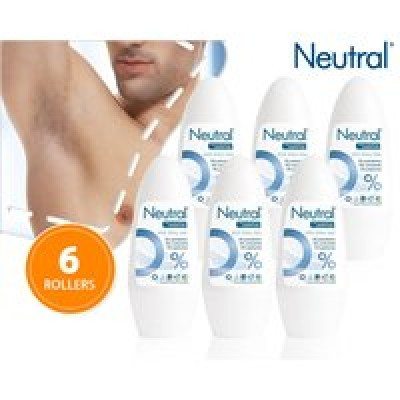 Foto 6-​pack neutral deo-​rollers