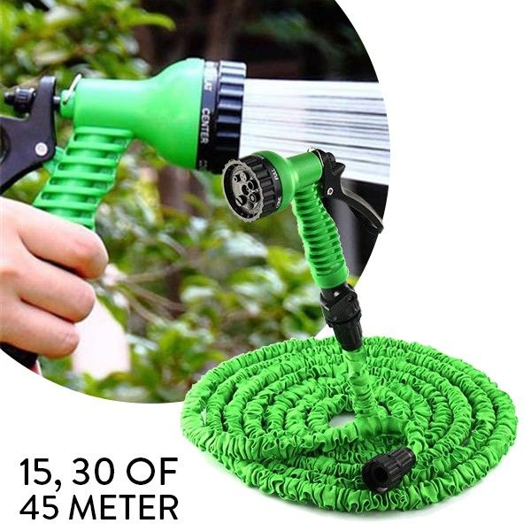 Foto Uitrekbare Magic Garden Hose 30 M