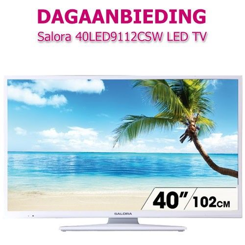 Foto Salora 40LED9112CSW LED TV