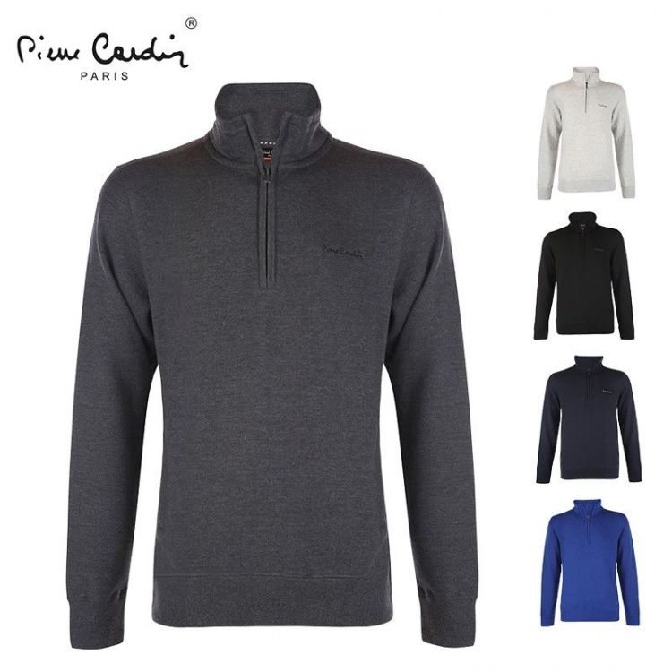 Foto Half zipper sweater van Pierre Cardin