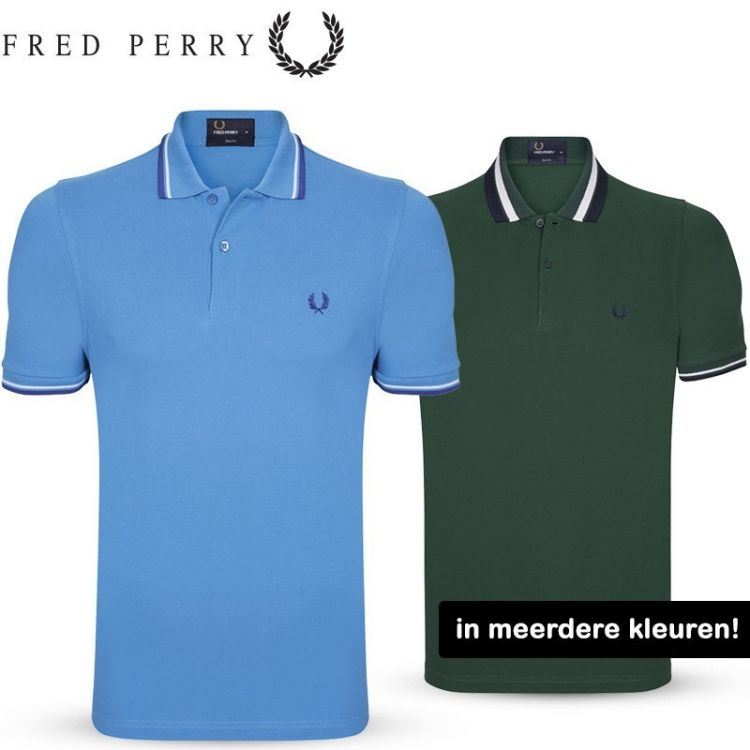 Foto Polo's van Fred Perry