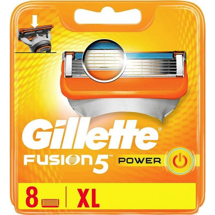 Gillette Fusion5 Power 8 Mesjes afbeelding