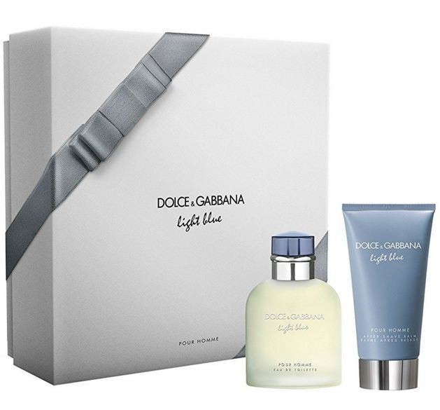 Foto Dolce & Gabbana Light Blue Pour Homme Cadeauset EDT + Aftershave