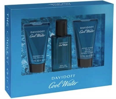 Foto Davidoff Cool Water Giftset 40ml edt + 2x 50ml