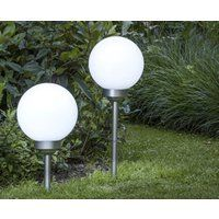 2-Pack Solar LED Lichtbollen afbeelding