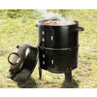 3-in-1 BBQ Smoker afbeelding