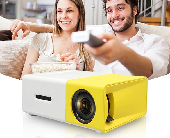 Foto Mini Led-Projector