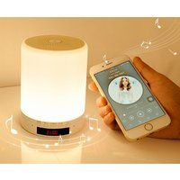 Foto Touch Lamp met Bluetooth Speaker