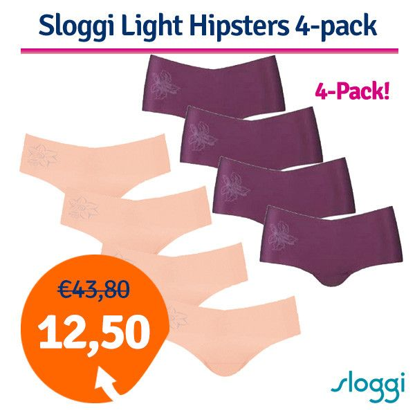 Foto Sloggi Hipsters 4-pack